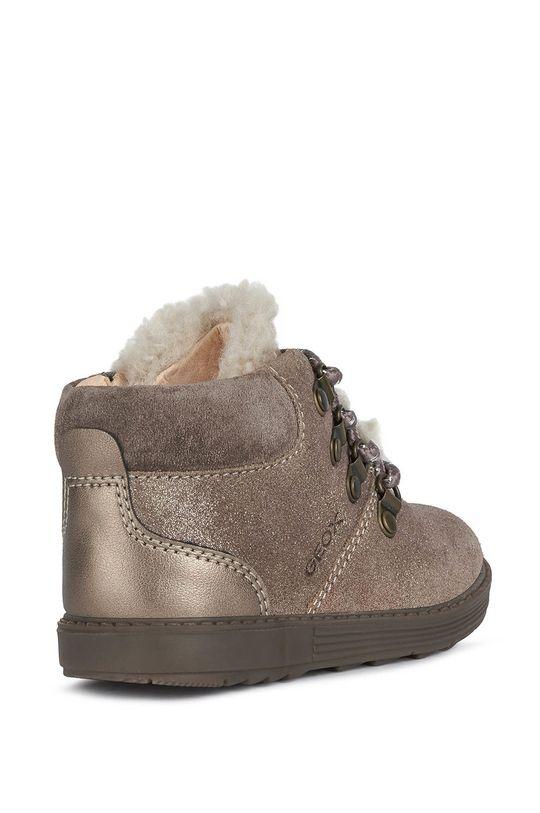 Geox - Detské kožené topánky Dievčenský