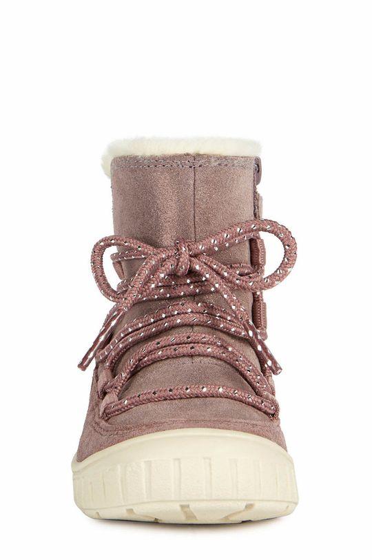 Geox - Pantofi din piele intoarsa pentru copii  Gamba: Piele naturala Interiorul: Material textil Talpa: Material sintetic
