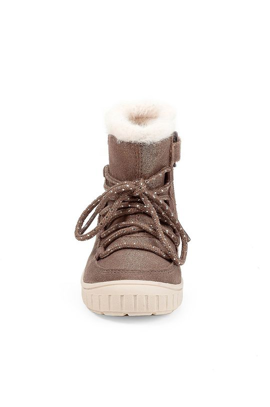 Geox - Detské semišové topánky  Zvršok: Prírodná koža Vnútro: Textil Podrážka: Syntetická látka