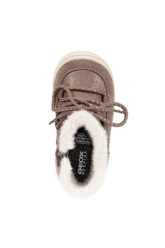 Geox - Detské semišové topánky