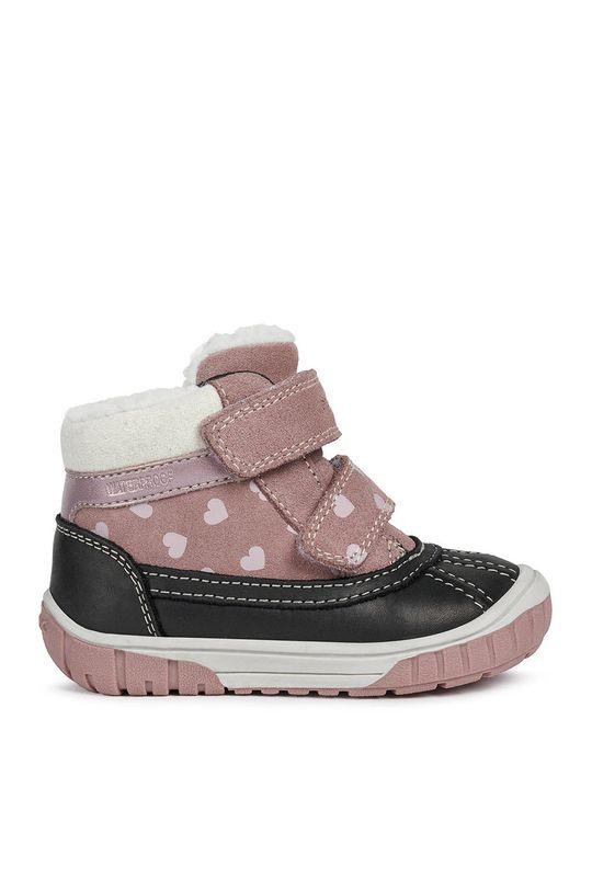 różowy Geox - Buty dziecięce Dziewczęcy