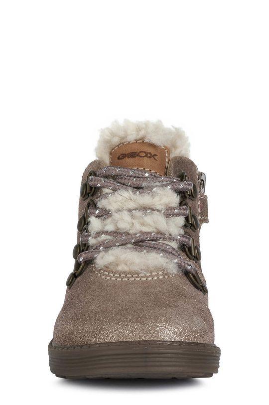 Geox - Dětské boty  Svršek: Přírodní kůže Vnitřek: Textilní materiál, Přírodní kůže Podrážka: Umělá hmota Vložka: Přírodní kůže