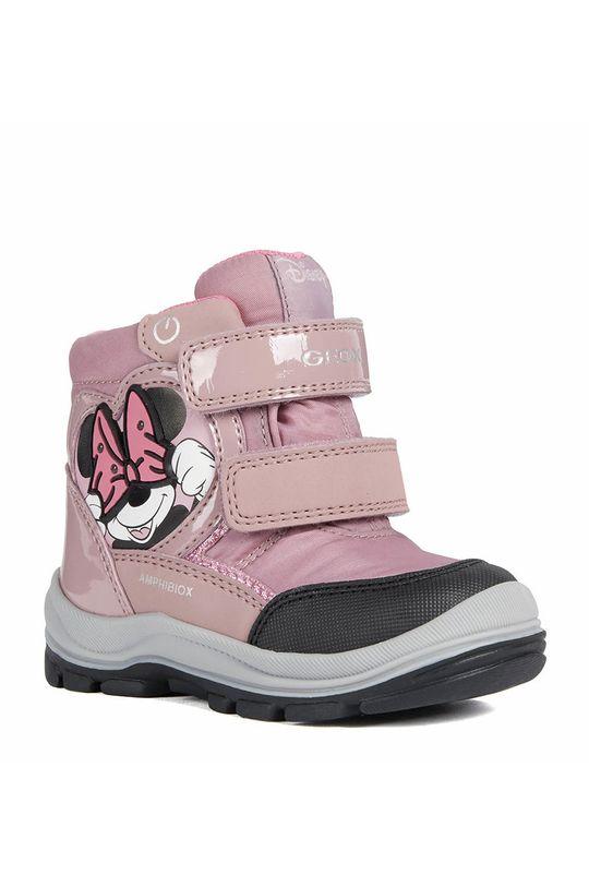 Geox - Pantofi copii  Gamba: Material sintetic Interiorul: Material textil, Piele naturala Talpa: Material sintetic