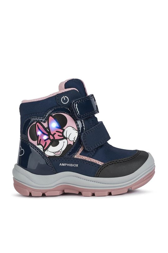 granatowy Geox - Buty dziecięce Dziewczęcy