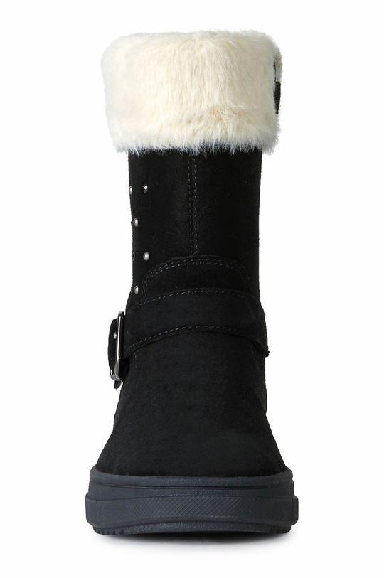 Geox - Dětské boty  Svršek: Textilní materiál, Semišová kůže Vnitřek: Umělá hmota, Textilní materiál Podrážka: Umělá hmota