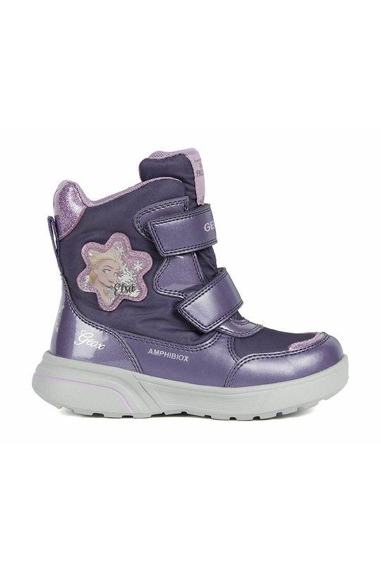 fioletowy Geox - Buty dziecięce Dziewczęcy