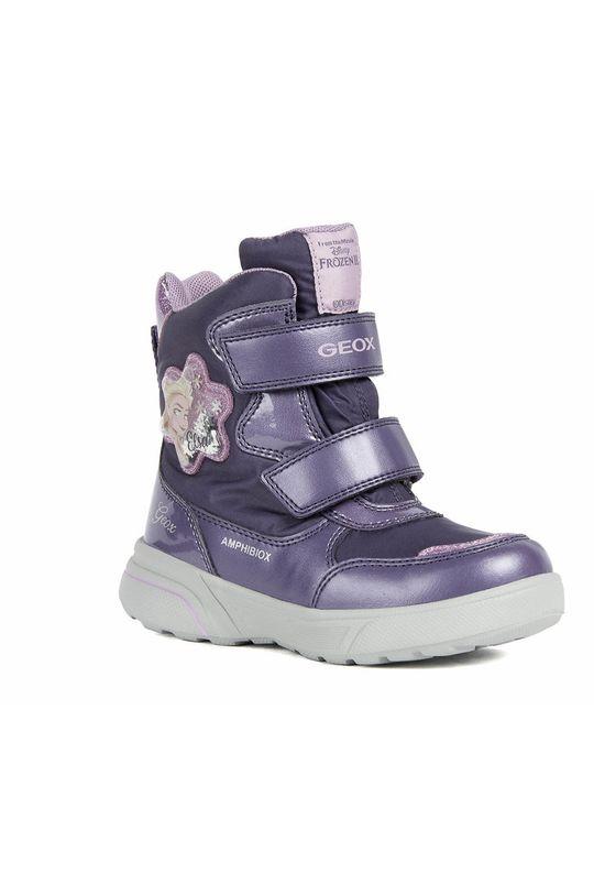 Geox - Dětské sněhule fialová