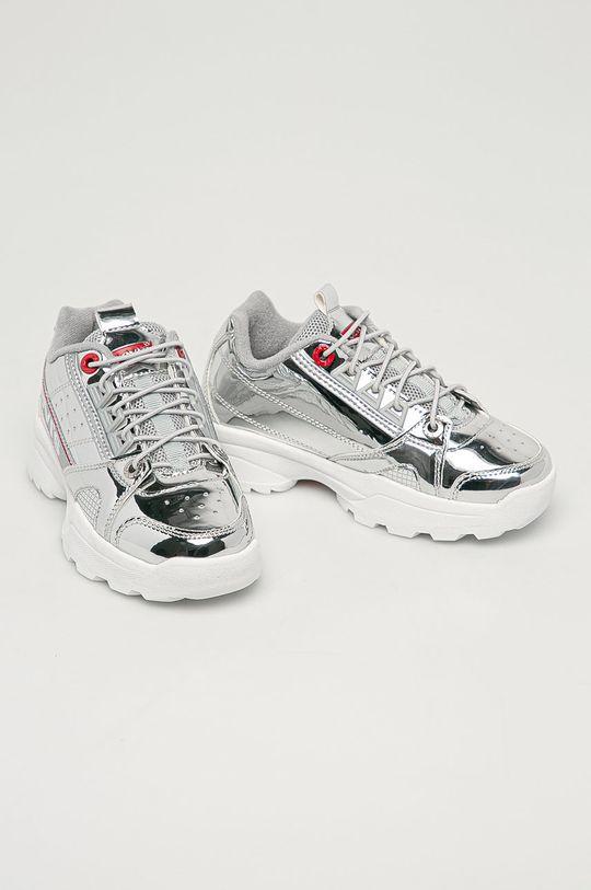 Levi's - Detské topánky strieborná