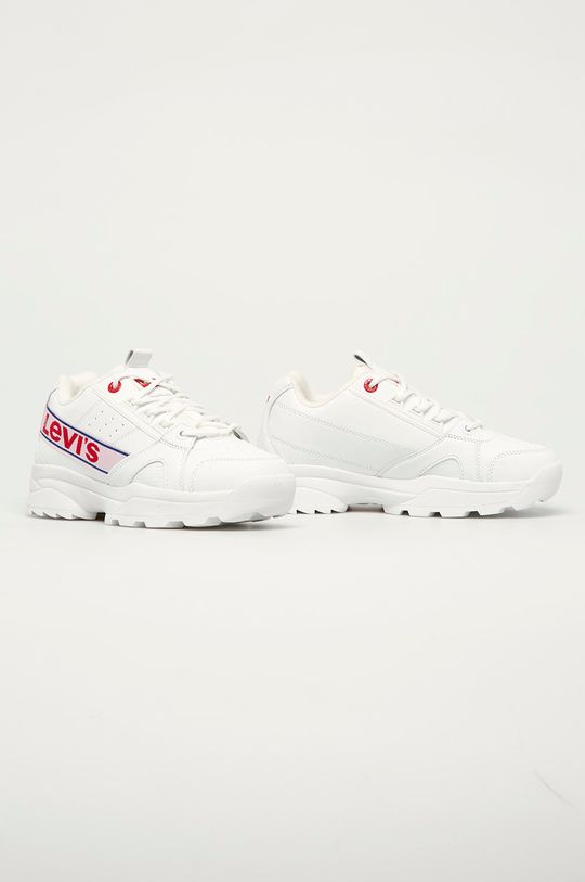 Levi's - Detské topánky biela