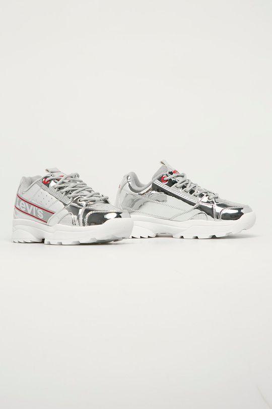 Levi's - Dětské boty stříbrná