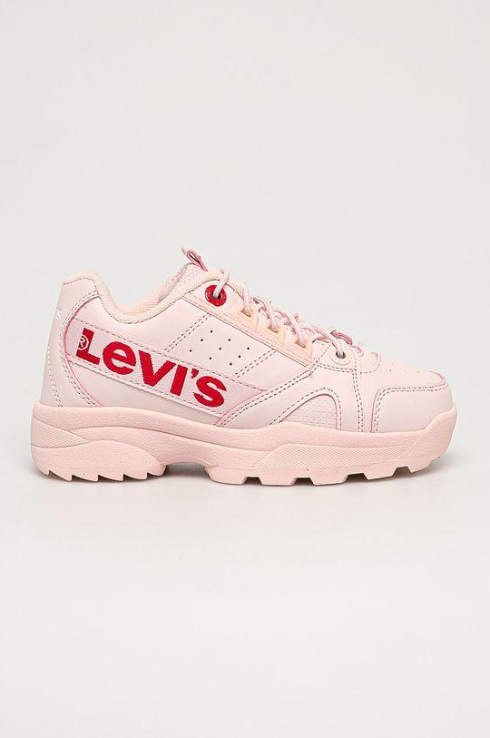 růžová Levi's - Dětské boty Dívčí