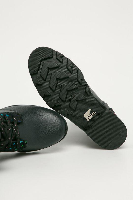 černá Sorel - Dětské boty Emelie