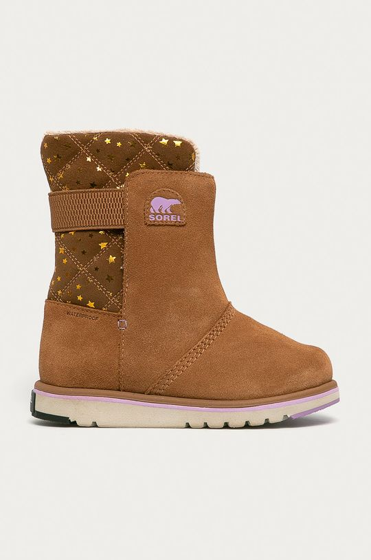 maro auriu Sorel - Cizme de iarna copii Youth Rylee De fete