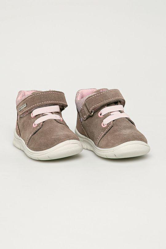 Primigi - Pantofi din piele intoarsa pentru copii bej