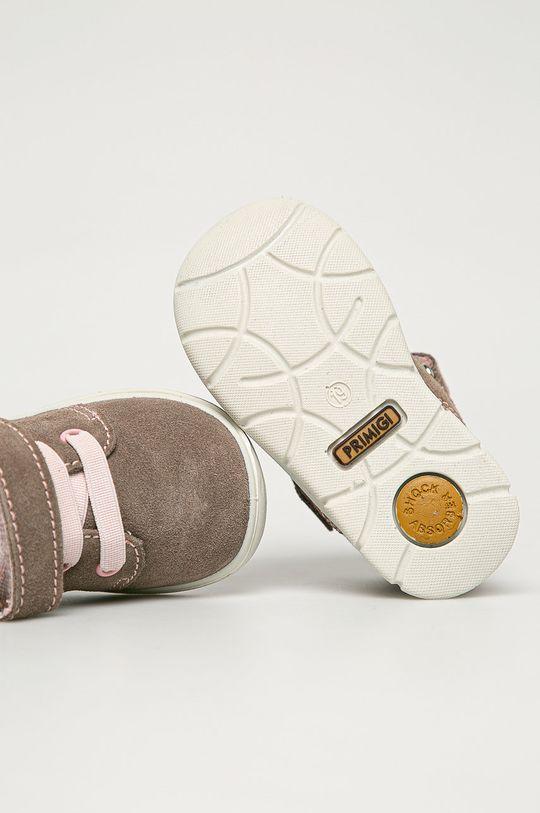 bej Primigi - Pantofi din piele intoarsa pentru copii