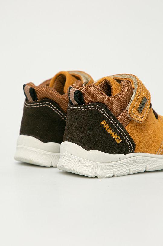Primigi - Pantofi din piele intoarsa pentru copii  Gamba: Piele intoarsa Interiorul: Material textil, Piele naturala Talpa: Material sintetic