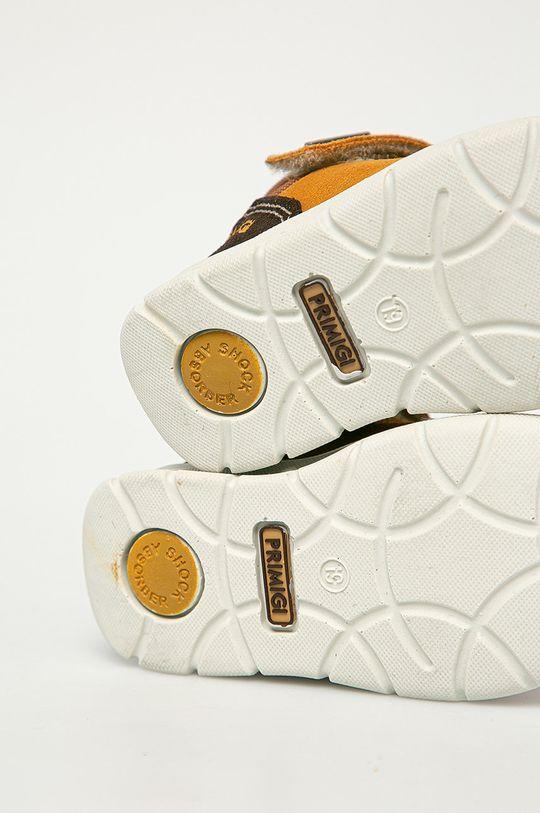 maro auriu Primigi - Pantofi din piele intoarsa pentru copii