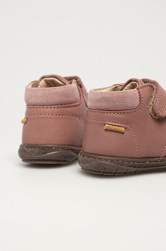 Primigi - Детские кожаные кроссовки  Голенище: Натуральная кожа Внутренняя часть: Натуральная кожа Подошва: Синтетический материал