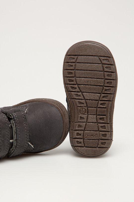 графита Primigi - Детские кожаные кроссовки