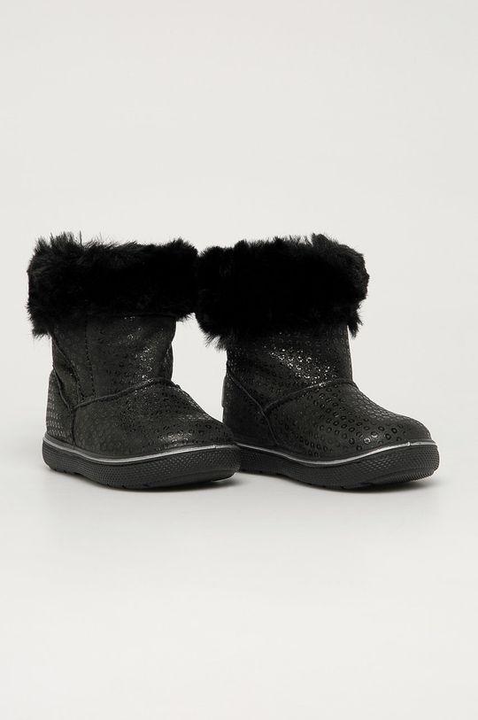 Primigi - Cizme de zapada din piele intoarsa negru