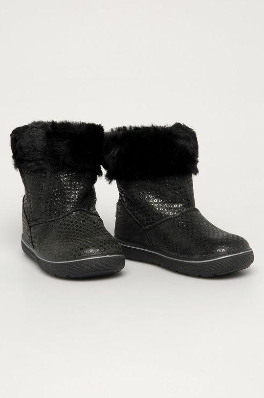 Primigi - Ghete de zapada din piele pentru copii negru