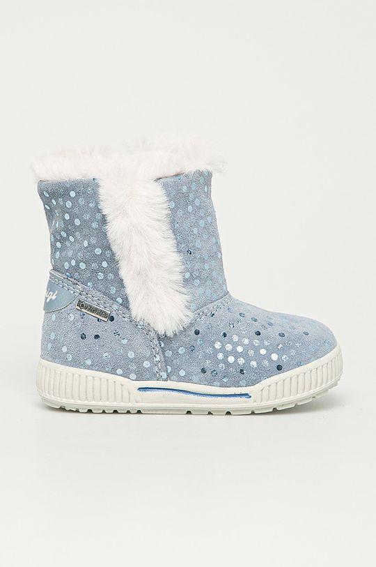 jasny niebieski Primigi - Śniegowce dziecięce Dziewczęcy