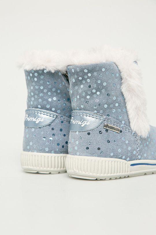 Primigi - Śniegowce dziecięce Cholewka: Skóra zamszowa, Wnętrze: Materiał tekstylny, Podeszwa: Materiał syntetyczny