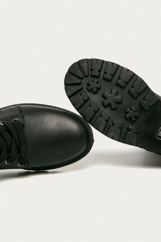 černá Primigi - Dětské kožené boty