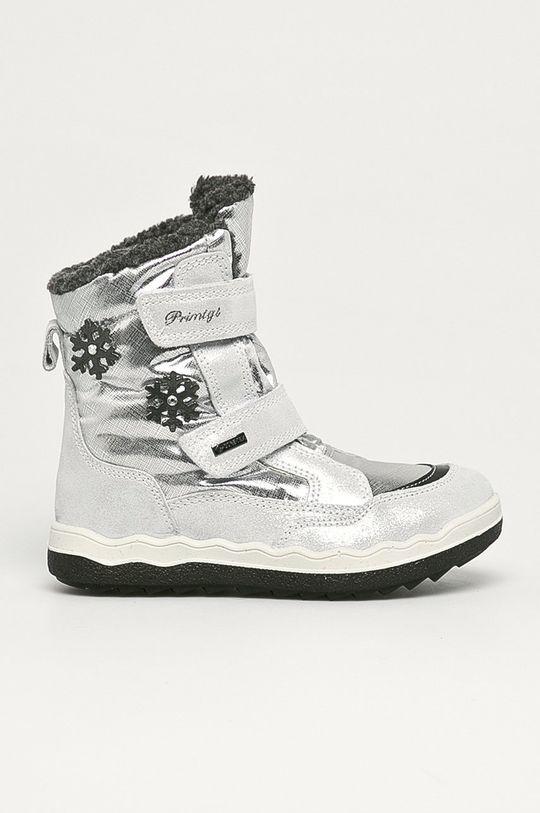 srebrny Primigi - Śniegowce dziecięce Dziewczęcy