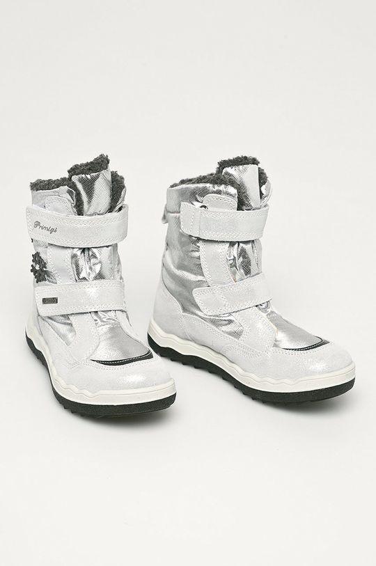 Primigi - Śniegowce dziecięce srebrny