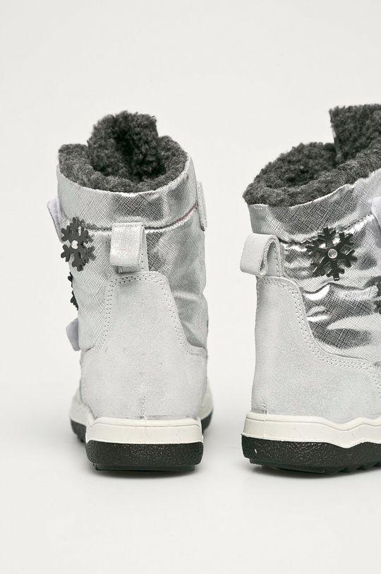 Primigi - Śniegowce dziecięce Cholewka: Materiał tekstylny, Skóra zamszowa, Wnętrze: Materiał tekstylny, Podeszwa: Materiał syntetyczny