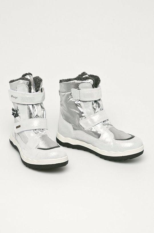 Primigi - Dětské sněhule stříbrná