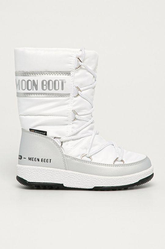bílá Moon Boot - Dětské sněhule Quilted Dívčí