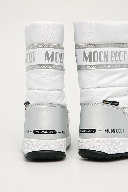 bílá Moon Boot - Dětské sněhule Quilted