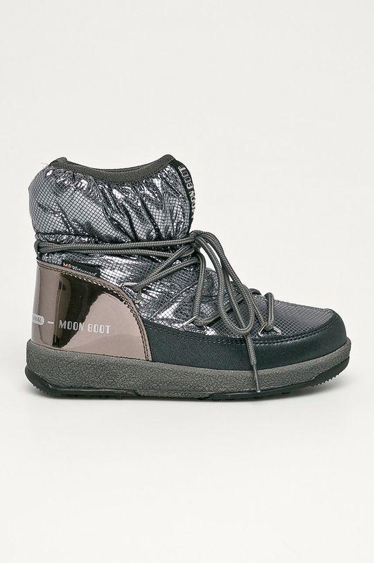 gri Moon Boot - Cizme de iarna copii De fete