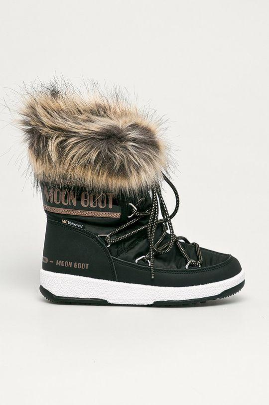 negru Moon Boot - Cizme de iarna copii Monaco Low Wp De fete