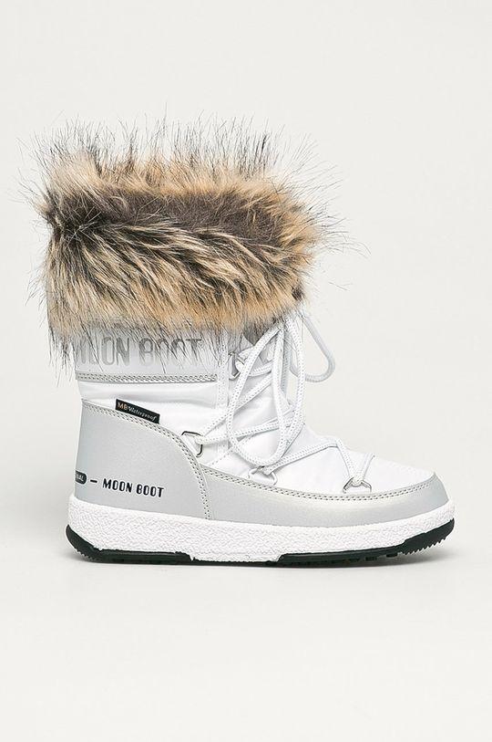 argintiu Moon Boot - Cizme de iarna copii Monaco Low Wp De fete