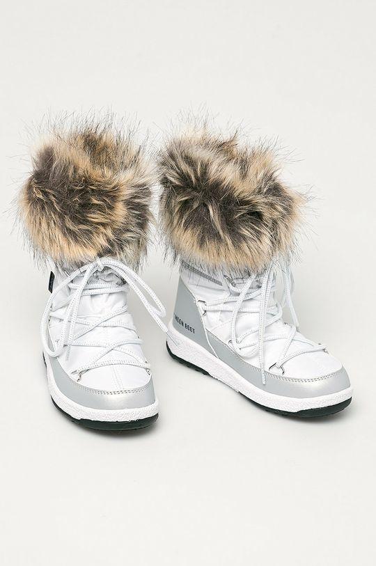 Moon Boot - Cizme de iarna copii Monaco Low Wp argintiu