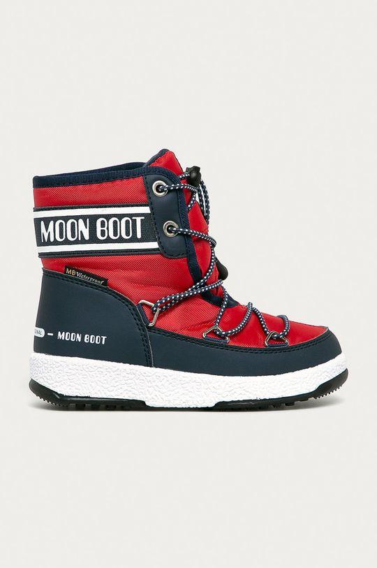 červená Moon Boot - Dětské sněhule Dívčí