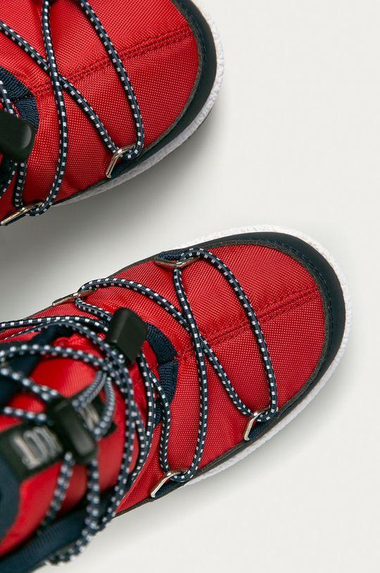červená Moon Boot - Dětské sněhule