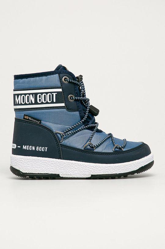 albastru deschis Moon Boot - Cizme de iarna copii De fete