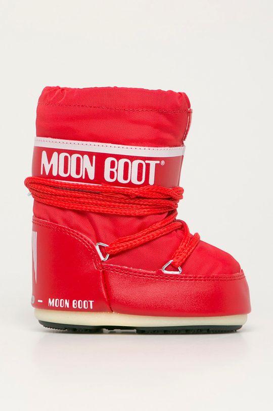 rosu Moon Boot - Cizme de iarna copii De fete