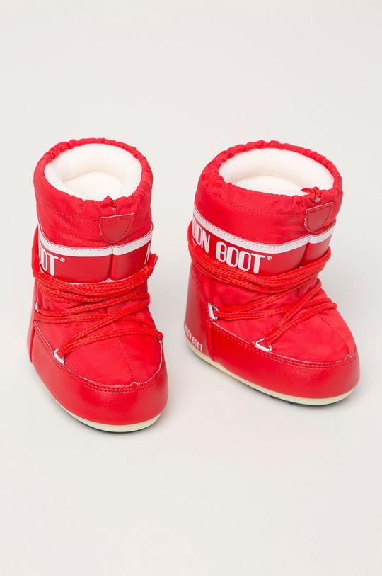 Moon Boot - Cizme de iarna copii rosu