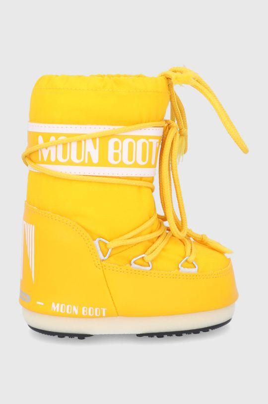 żółty Moon Boot - Śniegowce dziecięce Classic Nylon Dziewczęcy