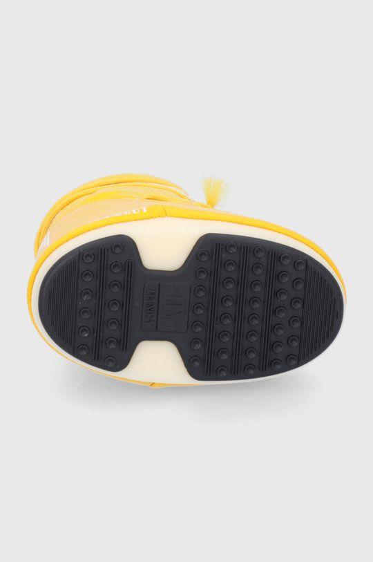 żółty Moon Boot - Śniegowce dziecięce Classic Nylon