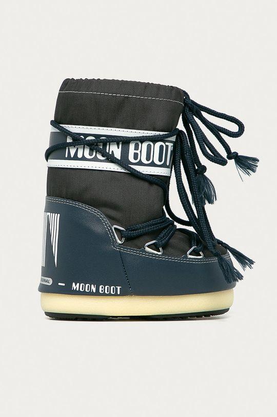 námořnická modř Moon Boot - Dětské sněhule Classic Nylon Dívčí