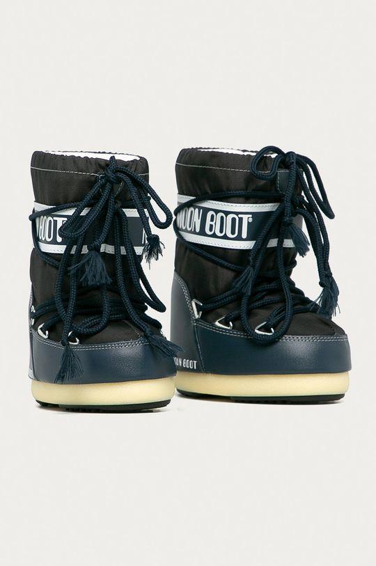 Moon Boot - Dětské sněhule Classic Nylon námořnická modř