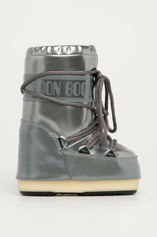 stříbrná Moon Boot - Dětské sněhule Vinile Dívčí