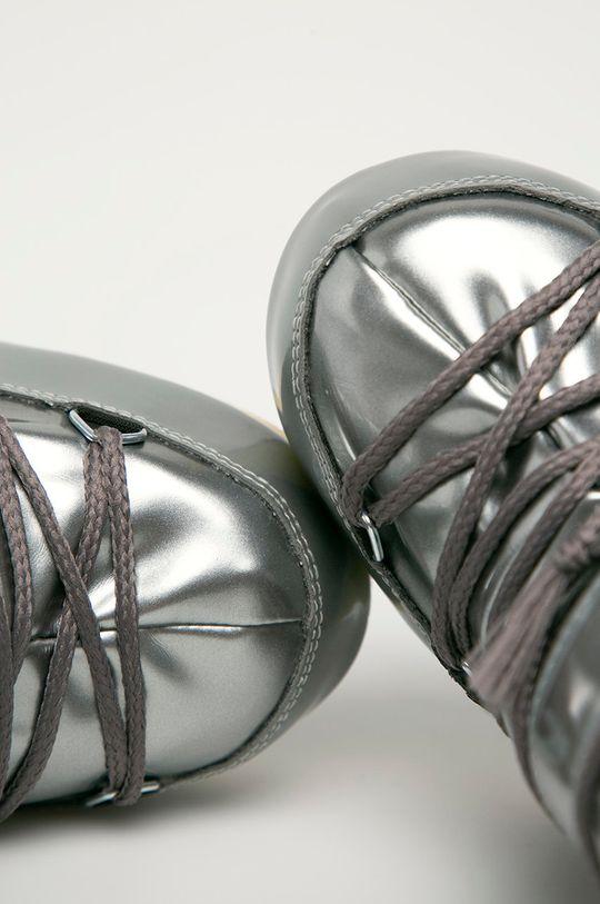 stříbrná Moon Boot - Dětské sněhule Vinile
