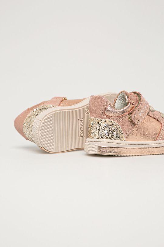 Primigi - Detské kožené topánky  Zvršok: Prírodná koža Vnútro: Prírodná koža Podrážka: Syntetická látka